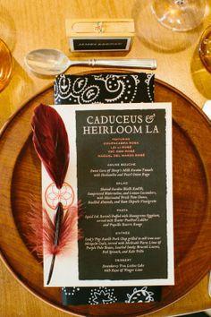 Caduceus in The Salon | HeirloomLA - Dinner Menu