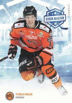2016-17 Cardset Finland - Stick Master #SM2 Oula Palve Front