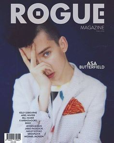 "Asa Butterfield on Rogue Magazine  ""I had a wild imagination, I wasn't quiet. I liked talking to people, but I also liked being in my own world & that really helped me in acting because you're sort of doing both."""