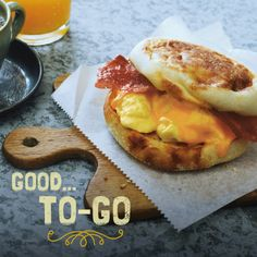 This quick fix Grab-n-Go Breakfast Sandwich is just the ticket for busy mornings. Hey, Drive-Thru? Your days are numbered.