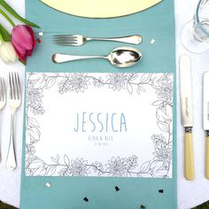 Personalised Wedding Colour Me In Table Place Mats - Geometric - For Men - Wedding Activity - Birthday Party Boys Colouring In - Mindfulness - Let's Dream - Chi Chi Moi - Etsy Wedding Men, Our Wedding, Wedding Ideas, Party Wedding, Wedding Things, Wedding Table, Rustic Wedding, Wedding Inspiration, Personalised Placemats