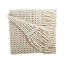 Serena and Lily-Ivory Chunky Wool Blanket