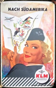 Frans Mettes / KLM - Nach Südamerika / 1952