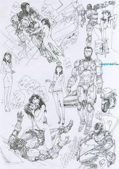 Robocop by Kim Jung Gi