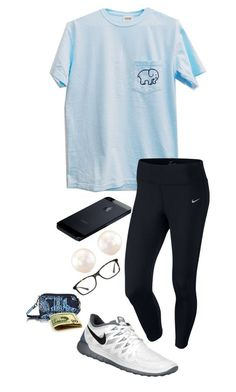 """doctor"" by shelbycooper ❤ liked on Polyvore featuring NIKE, GlassesUSA, Vera Bradley, women's clothing, women, female, woman, misses and juniors"