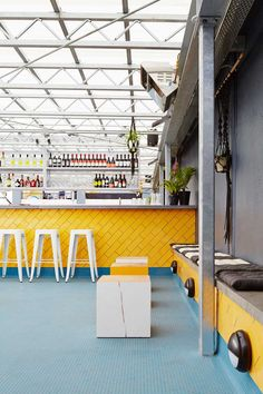 Young Bloods Diner by March Studio | Yellowtrace