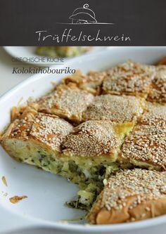Kolokithobouriko #zucchini #greece #pie