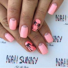 Nails | Nail Art Design Ideas. California Palm Trees