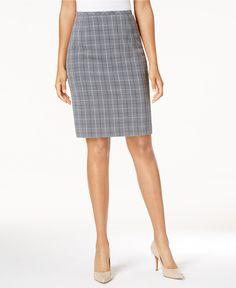 Tommy Hilfiger Plaid Pencil Skirt - Plaid Skirts For Women - SLP - Macy's
