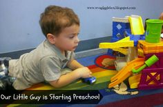 Starting preschool for the first time.