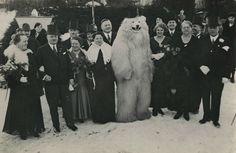 Even the polar bear is classy (1930's?) via /r/OldSchoolCool http://ift.tt/1P6ywDm   Peace Love Beauty Wisdom Balance Imagination Truth Consciousness