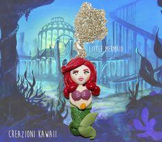 Little Mermaid Ariel Necklace  La Sirenetta di CreazioniKawaiiShop