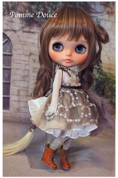 ☆ blythe outfit ☆ブライス 洋服☆pomme douce☆_画像3
