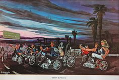 David Mann Ed Roth - Satan's Slaves MC