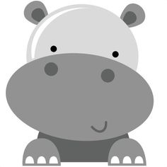 Resultado de imagem para hipopótamo clipart
