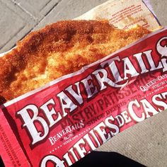 Golden and delicious! May we present the Classic - Cinnamon & Sugar BeaverTails pastry Instagram photo by @puzlook (puzlook)