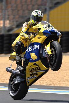 Yamaha Wheelie #vr46