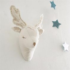 3d White Unicorn Sheep Deer Swan Wall Decorations Animals Head Toys Kids Bedroom Wall Hangings Artwork Baby Gifts Stuffed Toys-in Wind Chimes & Hanging Decorations from Home & Garden on Aliexpress.com | Alibaba Group