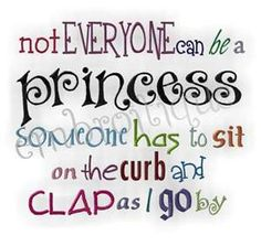 princess..this is to fun for scrapbooking or a card!