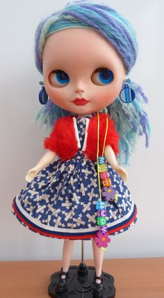 Miss Ruby my girl that was customised by Jules