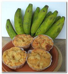 Muffin de Banana, este é o melhor que já comi.   Blog Aqui na Cozinha  