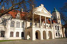 Zamoyski Palace; Kozłówka, Poland;  constructed in the early 1700s