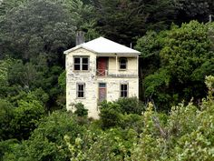 Abandoned house. Wellington, New Zealand.By brian nz
