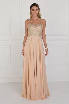 fea37353c2 Simple long prom dress GLS 1571