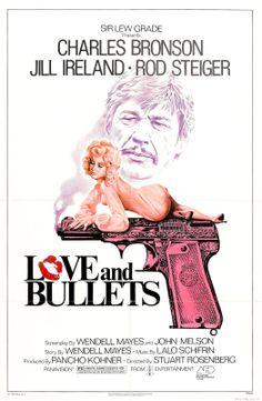 Charles Bronson - Jill Ireland, Love and Bullets poster 1979