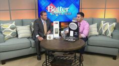 CT Lighting Centers: New Technology (WMN 9/17) - Recently VP Todd Director visited the set of WGGB's Western mass News to talk about what's available at CT Lighting Centers including door locks, window shades, ceiling fans, home decor and a whole lot more!