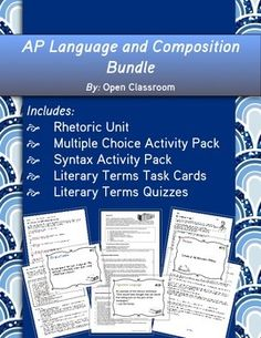Do you guys think you did good on the AP Language and Composition exam this year?
