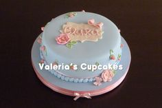 Valeria´s Cupcakes: Bautismo & Primer Añito de Clara  ♡