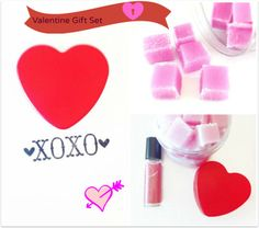 Valentine Bath Gift Set by SymbolicImports.etsy.com