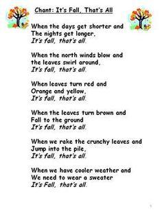 Acrostic Fall Poem | Fall poems, Writing sentences and Sentences