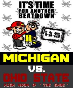 Yeah, we took down Michicant at the Horseshoe! Buckeyes Football, Ohio State Football, Ohio State University, Ohio State Buckeyes, College Football, Akron Zips, Scarlet, Michigan, Towel