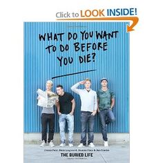 """Loved """"The Buried Life"""" show.  This book really isn't story based, just pictures and illustrations of what people want to do before they die.  Inspiring read..."""