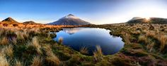 The Tarns, Taranaki by Itay Gal on New Zealand North, Before Sunset, Nature Images, Landscape Photographers, National Parks, Scenery, Clouds, Pictures, Photos