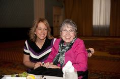 Gina Six, with her mom, Linda Allen, one of the 2013 honorees at The Association's Heroes Living with ALS Luncheon. Linda works closely with the Texas Chapter. Image courtesy of Sandy Marak Photography.