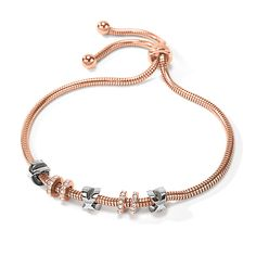 Love Memo Rose Gold Plated Ρυθμιζόμενο Βραχιόλι Rose Gold Plates, Pandora Charms, Plating, Charmed, Love, Bracelets, Jewelry, Amor, Bangle Bracelets
