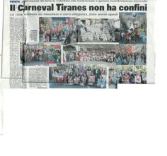 La Filarmonica Bormiese al Carneval Tiranes febbraio 2012