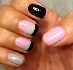 Gel Nails.. super cute design.