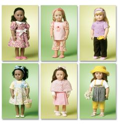 I did not make Barbie clothes - loved to make Cabbage Patch Doll clothes and love the American Girl doll clothes even more!