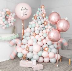 Add a pop of elegant color to your party with Rose Gold Pearl Balloons. These large rose gold latex balloons are sure to draw attention and easily transform your space into a festive party room. Bubblegum Balloons, Pastel Balloons, Mini Balloons, Custom Balloons, Baby Shower Balloons, Balloon Garland, Balloon Backdrop, Balloon Columns, Christmas Balloons