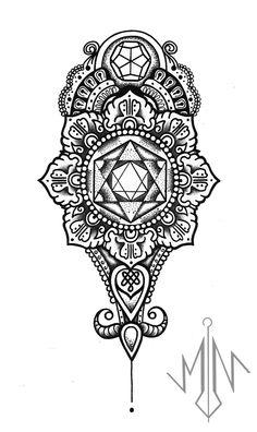 Mandala Tattoo Design, Tattoo Design Drawings, Mandala Art, Tattoo Designs, Arabesque, Geometric Sleeve Tattoo, Half Sleeve Tattoos Designs, Head Tattoos, Geometric Art