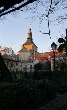 Iglesia del Santísimo Sacramento en el Madrid de los Austrias. Siglo XVII.