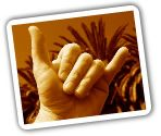 The SHAKA is a simple yet powerful way to remind locals & visitors to strive in spreading the aloha all day-everyday in the islands. It keeps the Hawaiian principle of malama i kekahi i kekahi, - take care of one, take care of all. If you're new to the islands, don't be shy about THROWING UP SHAKAS!  Aloha in the Hawaiian language can mean love, hello, goodbye, affection, regards, fondness & compassion. The amazing SHAKA communicates all this & more with just a simple wave of the hand.