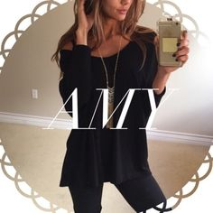 • Reserved • for Amy • Soft Black Dolman (M) • Black Mini Trench (M) Other