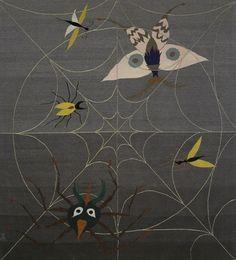 Leonora Carrington | Gallery Wendi Norris Spiderweb (for Edward James), 1948, woolen tapestry