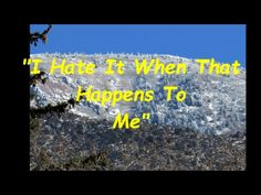 """""""I Hate It When That Happens To Me"""" written by Mr Prine (arr Ron Talley)..."""