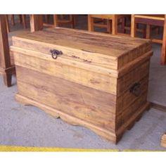 Baú em madeira de demolição 0,80- 57 #arte #moveis #rusticos - www.artemoveisrusticos.com.br